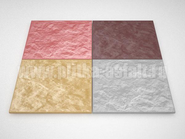 фасадная плитка 270*330 цветная