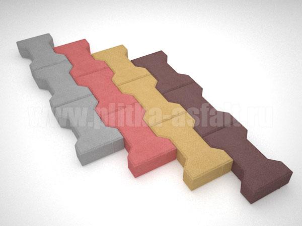 плитка катушка цветная