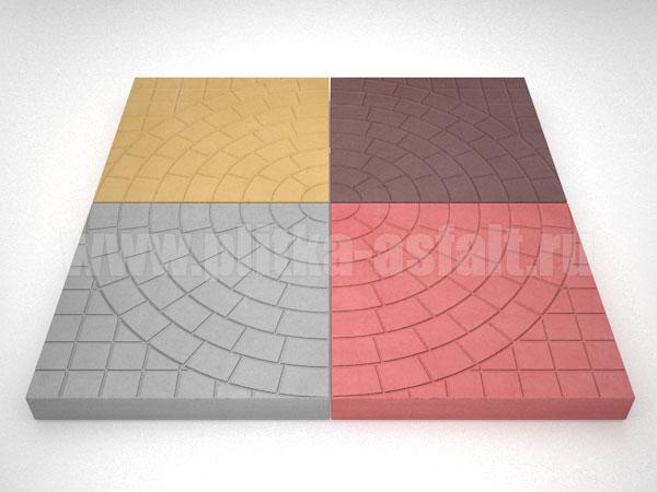 плитка паутина-40 цветная