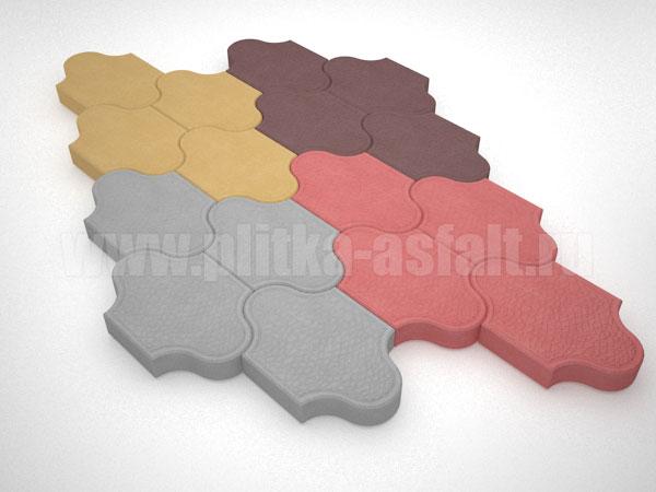 плитка рокко цветная